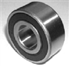 "SR168-2RS ABEC 7 SI3N4 DRY Stainless Steel Ceramic Si3N4 Sealed Bearing 1/4""x3/8""x1/8"" inch"