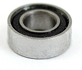 "SR3-2RS ABEC 7 SI3N4 DRY Stainless Steel Ceramic Si3N4 Sealed Bearing 3/16""x1/2""x0.196"" inch"