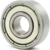 "SR3ZZ ABEC 7 SI3N4 Ceramic Shielded Bearing 3/16""x1/2""x 0.196 inch Miniature"