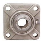 "SSUCF201-8 Stainless Steel Flange 4 Bolt 1/2"" Bore Mounted Bearings"