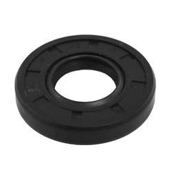 "Oil and Grease Seal 1.299""x 1.85""x 0.394"" Inch Rubber"