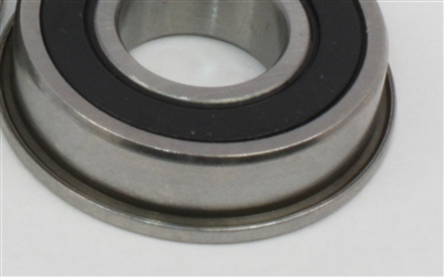 Flanged Ceramic Bearing Sealed 8x14x4 Miniature