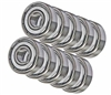 5x9x3 Stainless Steel Shielded Miniature Bearing Pack of 10