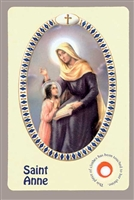 Saint Anne Relic Card