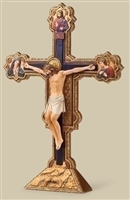 The Ognissanti Tabletop Crucifix 10.5""