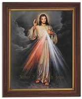 The Divine Mercy 12.5 inches frame