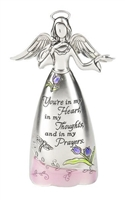 Figurine - You're in my Heart in my Thoughts and in my Prayers by Ganz