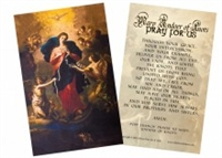 Mary Undoer of Knots Prayer Card