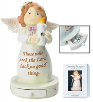 August Birthstone Angel