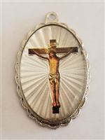 Jesus Crucified Medal
