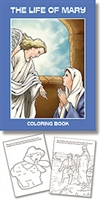 Life of Mary Coloring Book