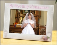 Girl First Communion Photo Frame