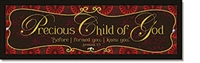 Precious Child of God Plaque