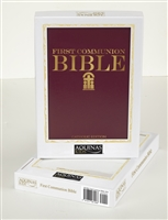 Catholic First Communion Bible - Gift Edition