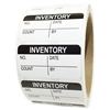 "Black ""Inventory"" Label - 1"" by 2"" - 500 ct Roll"