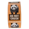 "Orange Panda ""Do Not Crush"" Label - 3"" by 2"" - 500 ct"