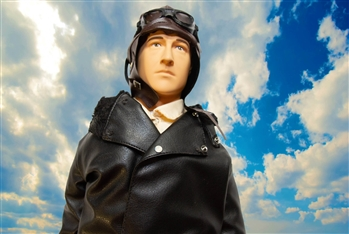 "1/4 Scale German Pilot Figure 15"" tall"