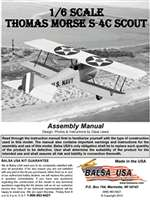 1/6 Scale Thomas-Morris S-4c Scout Plans and Instruction Manual