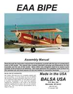 1/4 Scale EAA Biplane Plans and Instruction Manual