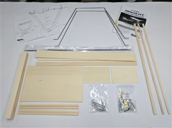 1/3 Scale Sopwith Pup Complete Landing Gear Kit