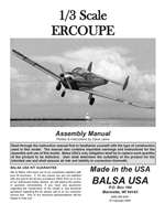 1/3 Scale Ercoupe Instruction Manual only
