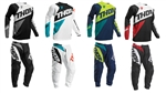 2018 THOR RACING SECTOR ZONES JERSEY & PANTS GEAR COMBOS