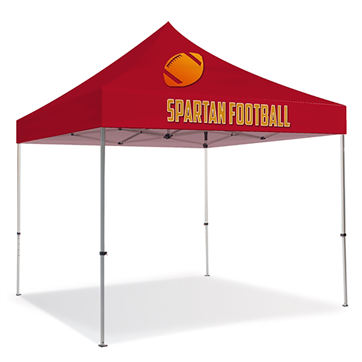 10ft Pop Up Canopy - Full Color (Front Panel Only)