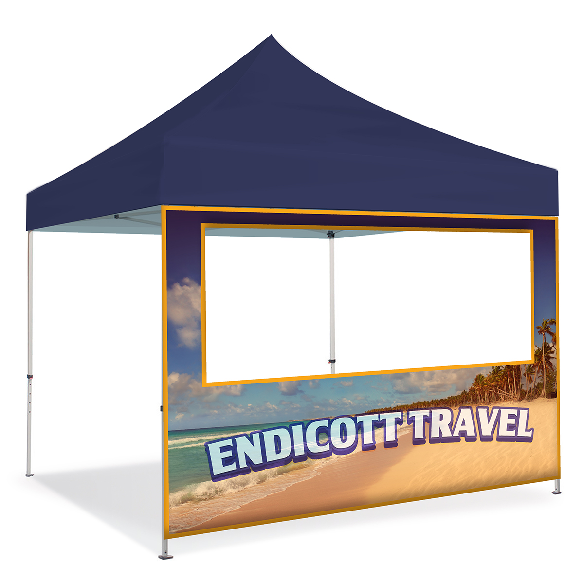 10ft Pop Up Canopy Wall - Window
