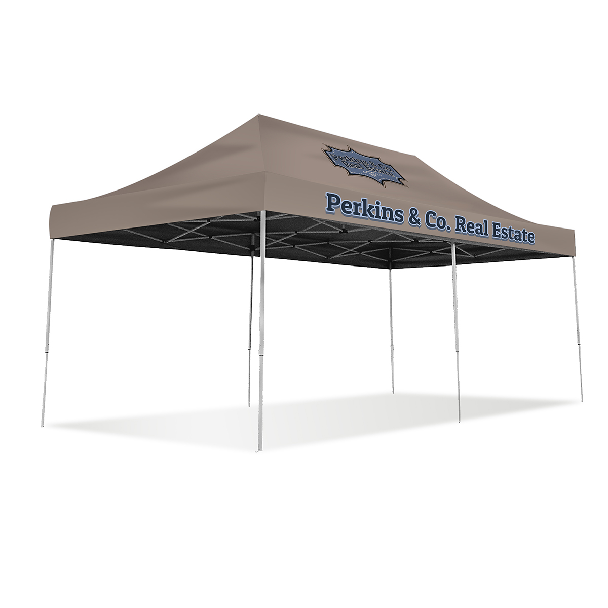20ft Pop Up Canopy - Full Color (Front Panel Only)