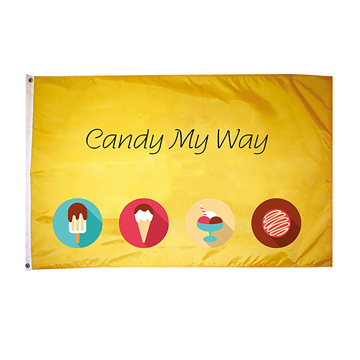 Single Sided Full Color Flag - 2' x 3'
