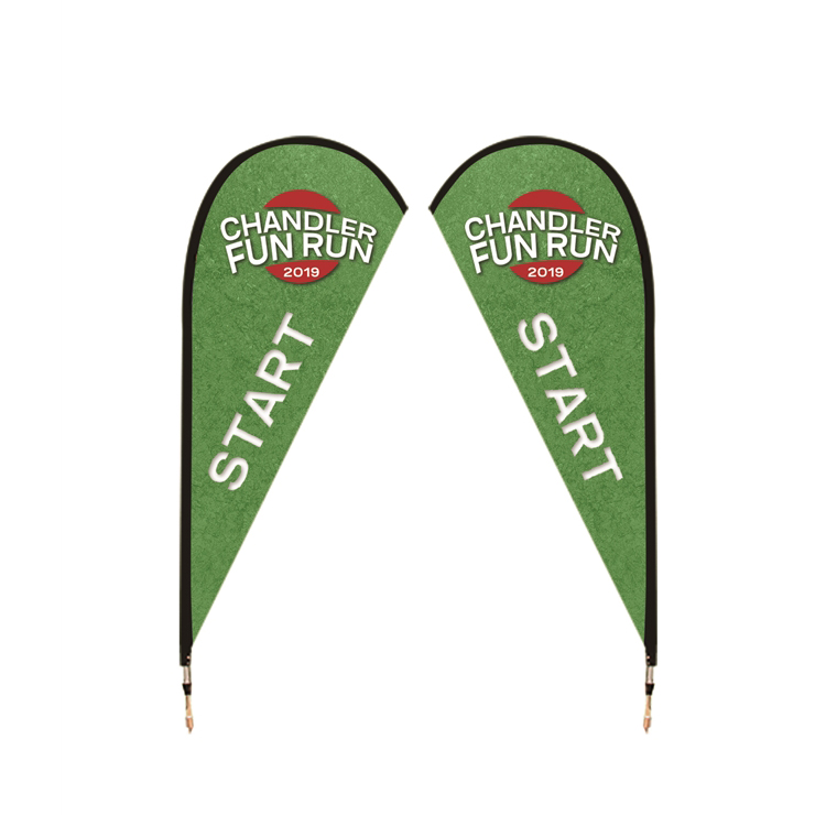8.4 ft. Medium Drip Flag-Double Sided
