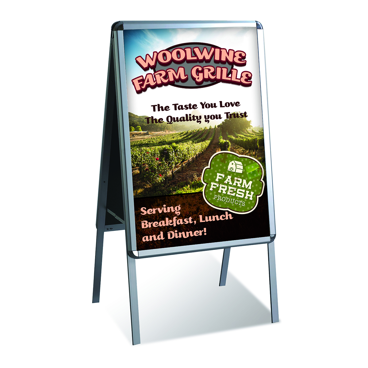 Double Sided Snap Poster Frame
