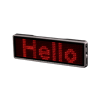 LED Name Tag - Red