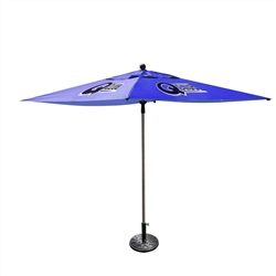 Outdoor Advertising Umbrella-Small (4 Panels)