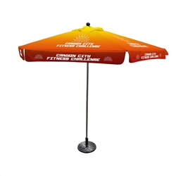 Outdoor Advertising Umbrella-Small (6 Panels)