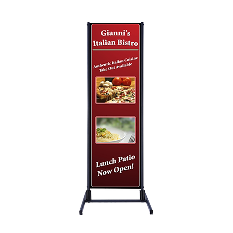 Outdoor Dual Banner Display