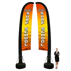 Outdoor Inflatable Flag-Double sided-20FT