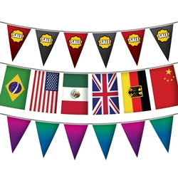 Pennant Flags - Single Sided