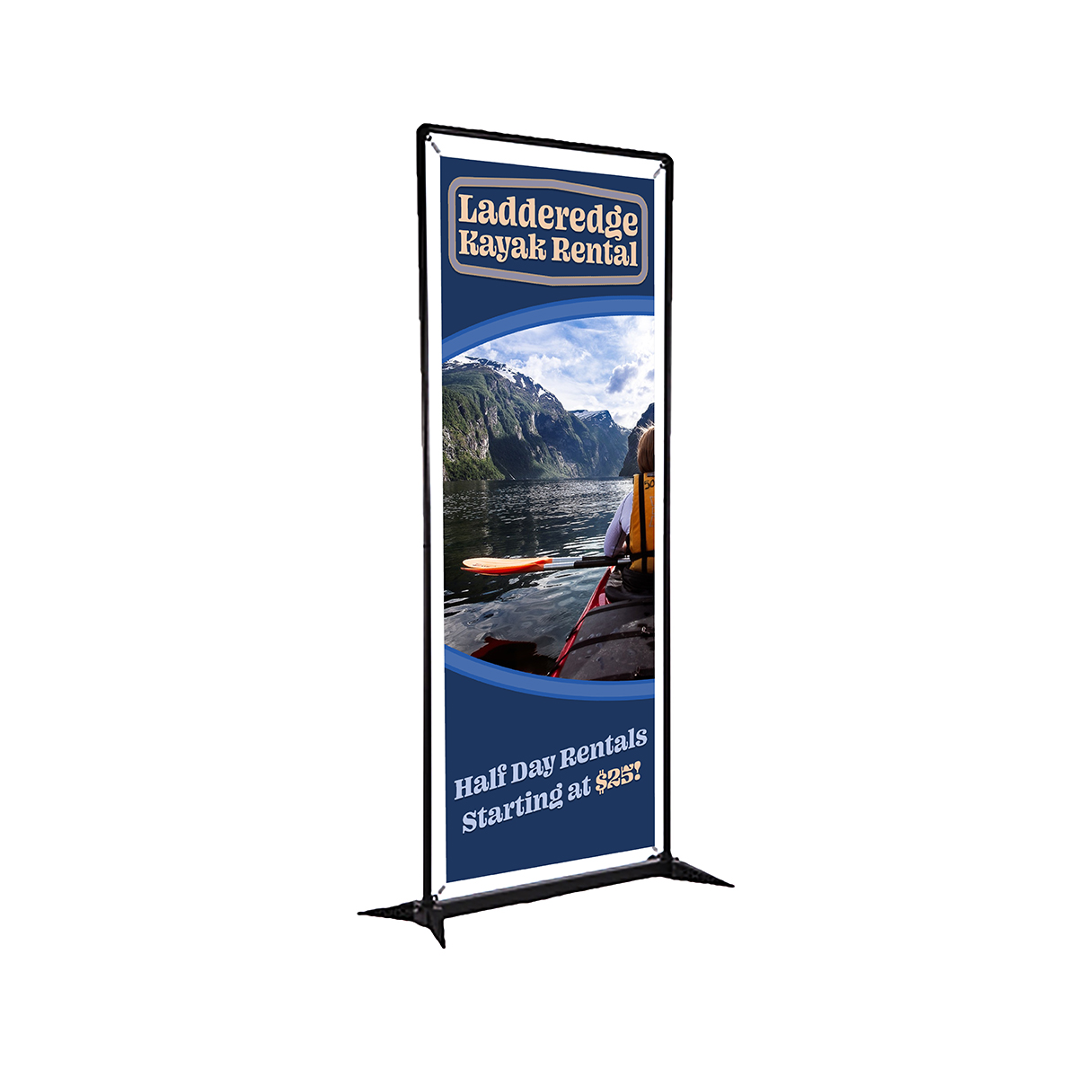 3ft SmartFit Display Banner - Single Sided