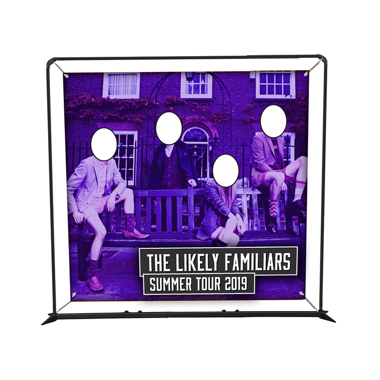 8.5ft SmartFit Barrier Display - Face Cutout