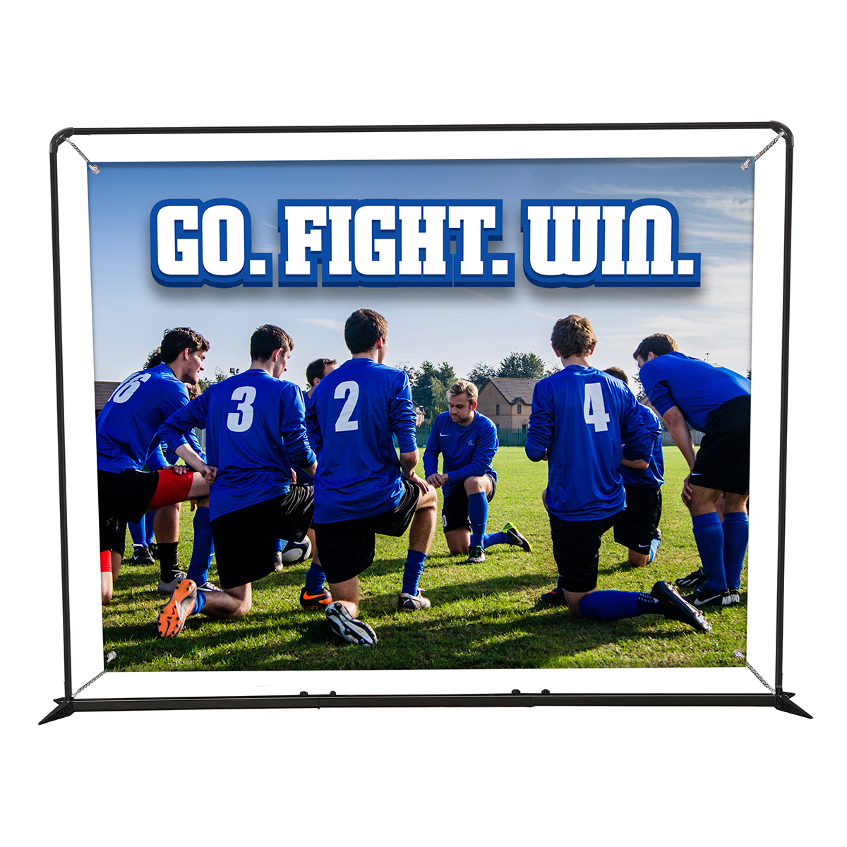 10.5ft SmartFit Barrier Display - Single Sided