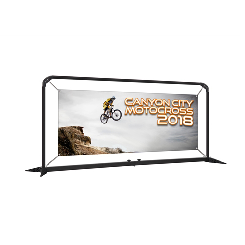 7ft SmartFit Barrier Display - Single Sided