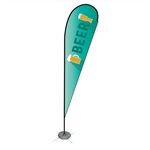 Single Sided Teardrop Flag - Large