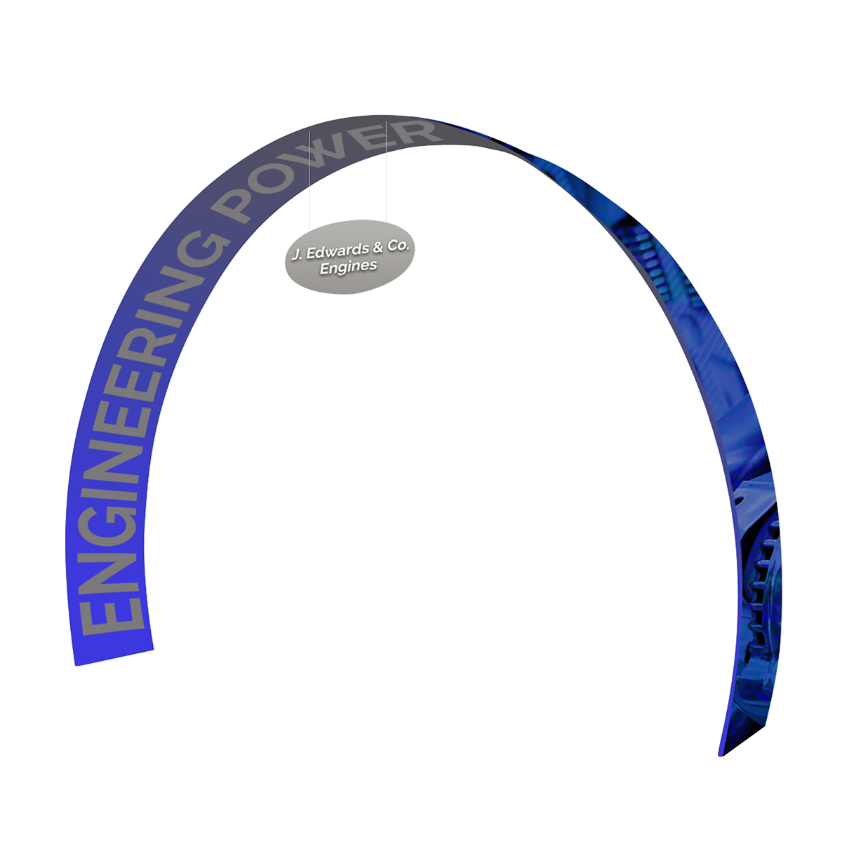 20ft Arch Wave Display
