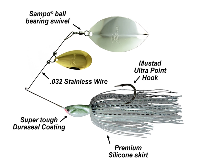 Picasso Spinnerbaits Tandem Thunder Willow