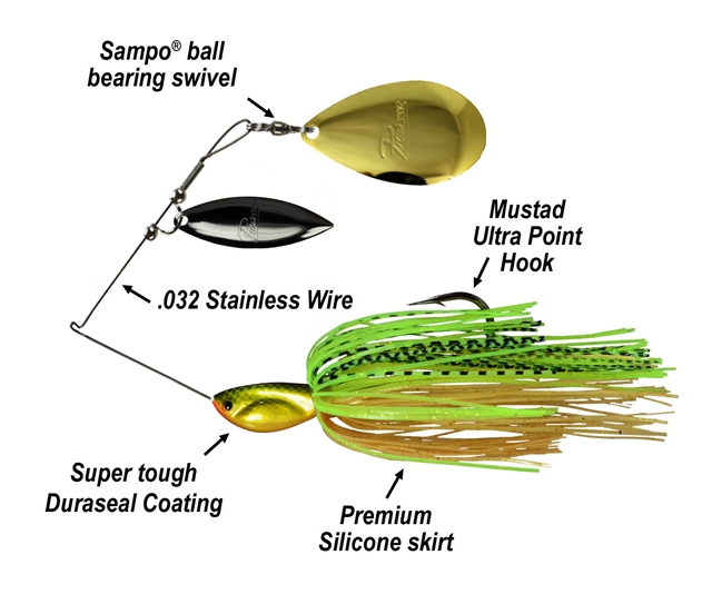 Picasso Spinnerbaits Willow Indiana