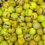 A: Yellow Range Balls. Mixed Brands. Average/Good Condition (50 dz.)