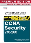 CCNA Security 210-260 Official Cert Guide Premium Edition eBook and Practice Test