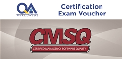 Certified Manager of Software Quality: (CMSQ)