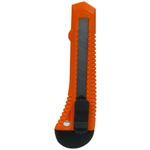 AIC80140  8 PT. SNAP OFF UTILITY KNIFE (PLASTIC)